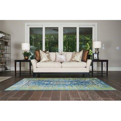 Yareli Blue/Green Area Rug Rug Size: 5' x 8'