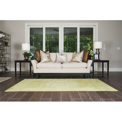 Neuilly Beige/Green Area Rug Rug Size: 5 x 8