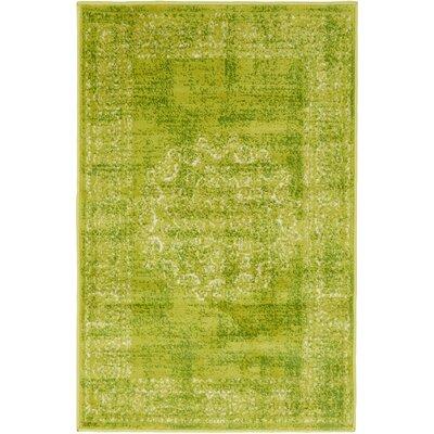 Yareli Beige/Green Area Rug Rug Size: 2 x 3