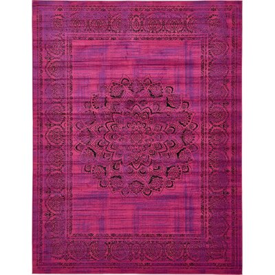 Yareli Fuchsia/Purple Area Rug Rug Size: 13 x 198
