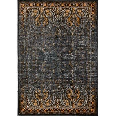 Yareli Black/Ivory Area Rug Rug Size: 8' x 11'6