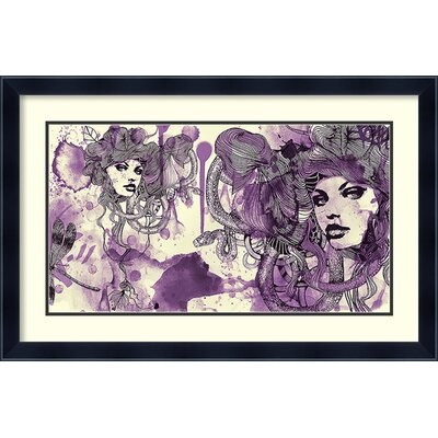Viola Framed Painting Print