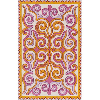 Retana Gold/Beige Area Rug Rug Size: Rectangle 8 x 10