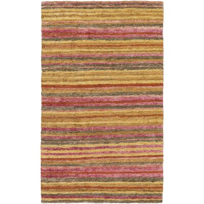 Rekha Hand-Woven Area Rug Rug size: Rectangle 8 x 11