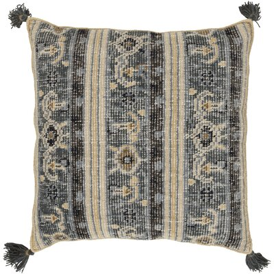 Hagerman 100% Wool Throw Pillow Cover Color: GrayBlue