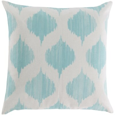 Kingman 100% Cotton Throw Pillow Cover Size: 18 H x 18 W x 1 D, Color: BlueNeutral