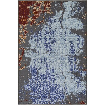 Prasad Blue/Gray Area Rug Rug Size: Rectangle 110 x 3