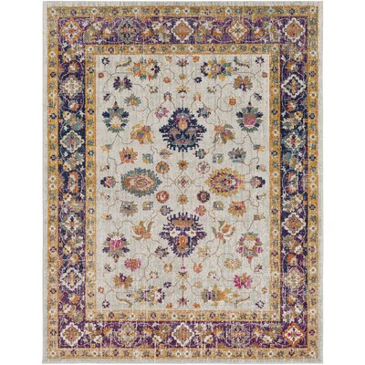 Koval Purple/Orange Area Rug Rug Size: Rectangle 710 x 103