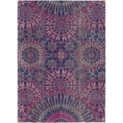 Fredonia Purple/Pink Area Rug Rug Size: Rectangle 2 x 3