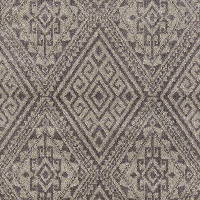 Zita Gray Area Rug Rug Size: 53 x 73
