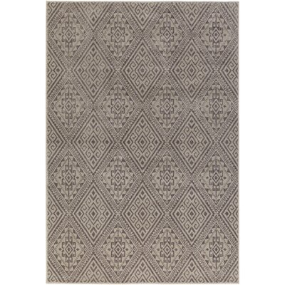 Puran Gray Area Rug Rug Size: Rectangle 110 x 211