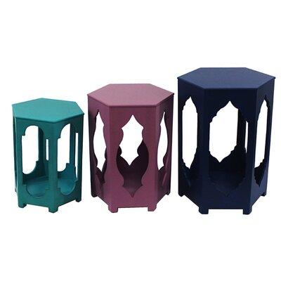 Bungalow Rose Saari 3 Piece Nesting Tables