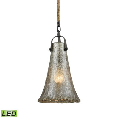 Marjane 1-Light Mini Pendant Bulb Type: 9.5W LED