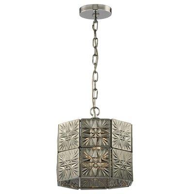 Kalakis 1-Light Drum Pendant Bulb Type: 9.5W LED