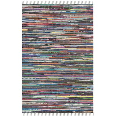 Fairview Hand-Woven Gray Area Rug Rug Size: 4 x 6