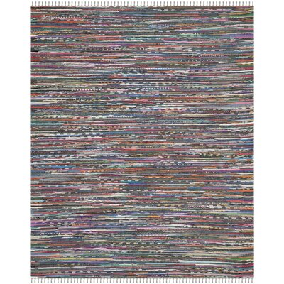 Fairview Hand-Woven Gray Area Rug Rug Size: 9 x 12