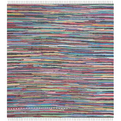 Fairview Hand-Woven Gray Area Rug Rug Size: Square 8