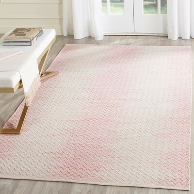 Ascuaga Hand-Woven Area Rug Rug Size: Rectangle 5 x 8