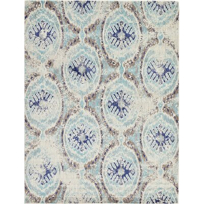 Alstrom Blue Area Rug Rug Size: Rectangle 8 x 10