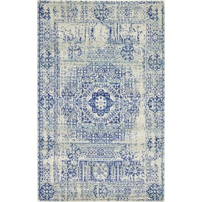 Delgado Ivory Area Rug Rug Size: Rectangle 5 x 8