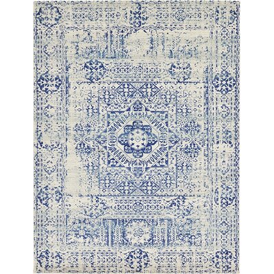 Delgado Ivory Area Rug Rug Size: Rectangle 9 x 12