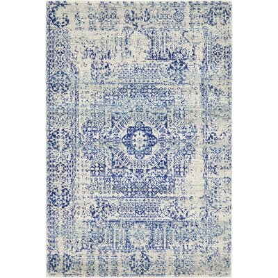 Delgado Ivory Area Rug Rug Size: Rectangle 4 x 6