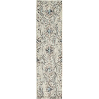 Alstrom Silver Area Rug Rug Size: Runner 27 x 10
