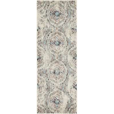 Alstrom Silver Area Rug Rug Size: Runner 22 x 6