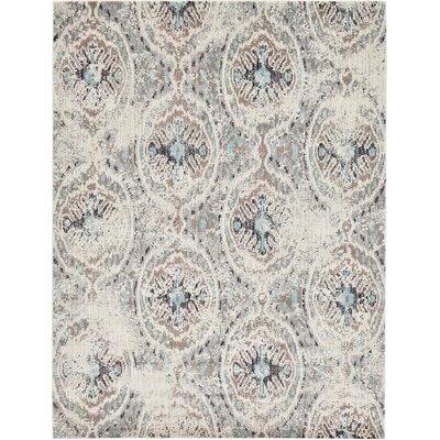 Alstrom Silver Area Rug Rug Size: 9 x 12
