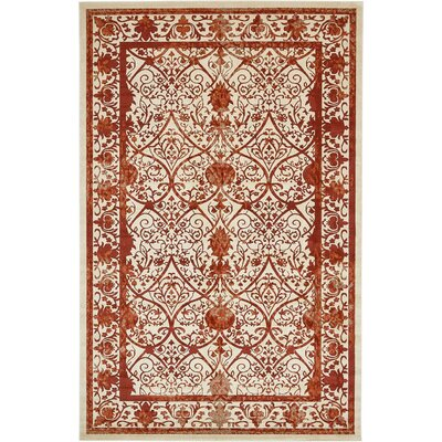 Mya Terracotta Area Rug Rug Size: Rectangle 10' x 16'