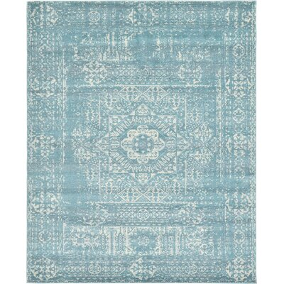 Ainslie Brook Light Blue Area Rug Rug Size: 8' x 10'
