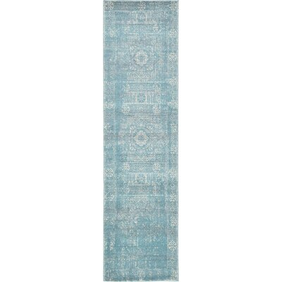 Ainslie Brook Light Blue Area Rug Rug Size: Runner 2'7