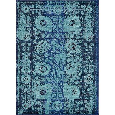 Roshan Blue Area Rug Rug Size: 6'7