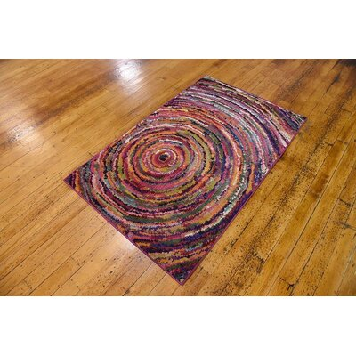 Killington Traditional Area Rug Rug Size: 5 x 8