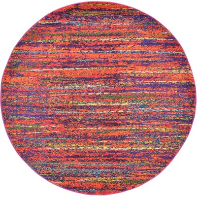 Roshan Area Rug Rug Size: Round 8