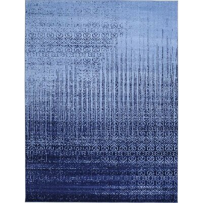Ronit Blue Area Rug Rug Size: 7' x 10'