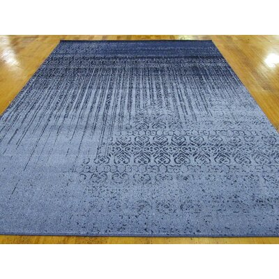 Bungalow Rose Kadar Blue Area Rug