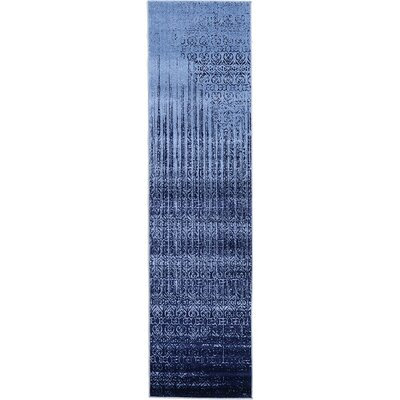 Ronit Blue Area Rug Rug Size: Runner 2'7