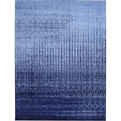 Ronit Blue Area Rug Rug Size: 5' x 8'
