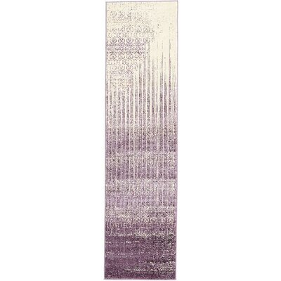 Ronit Purple Area Rug Rug Size: Runner 2'7