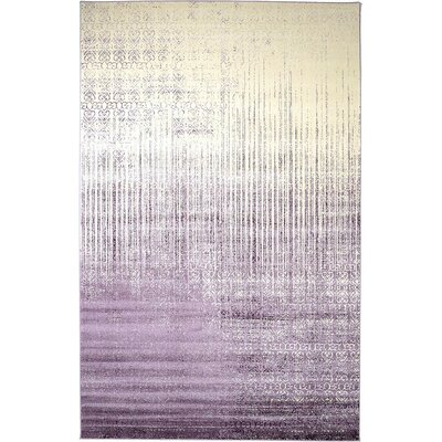 Ronit Purple Area Rug Rug Size: 9 x 12