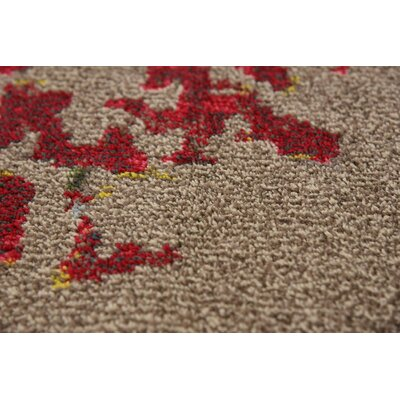 Demian Blue/Red Area Rug Rug Size: Rectangle 7 x 10