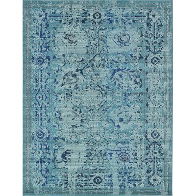 Charleena Blue Area Rug Rug Size: Rectangle 106 x 165