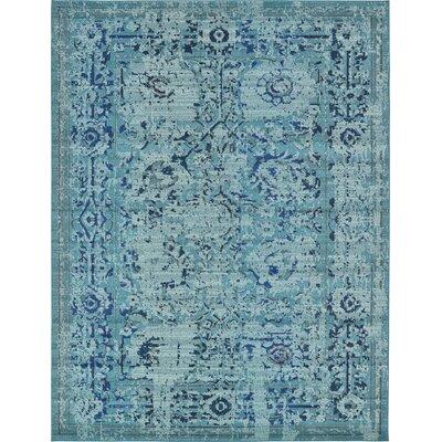 Charleena Blue Area Rug Rug Size: 106 x 165