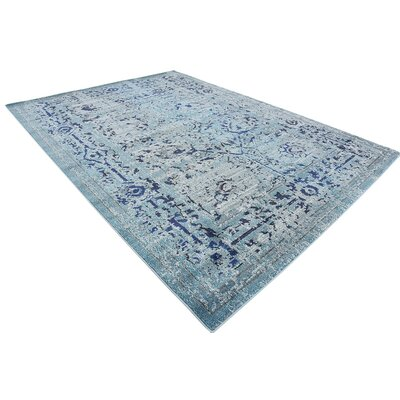 Charleena Blue Area Rug Rug Size: Rectangle 8 x 11