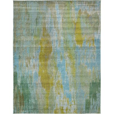 Roshan Turquoise Area Rug Rug Size: 9 x 12