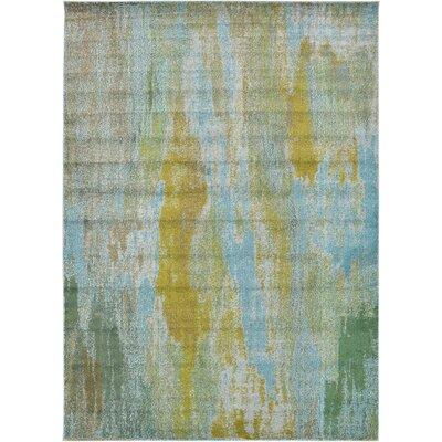 Roshan Turquoise Area Rug Rug Size: 8' x 11'4
