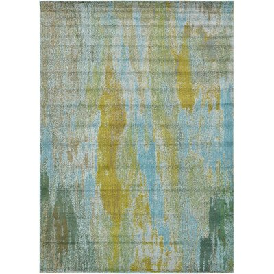 Roshan Turquoise Area Rug Rug Size: 7 x 10