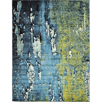 Roshan Blue Area Rug Rug Size: 9' x 12'