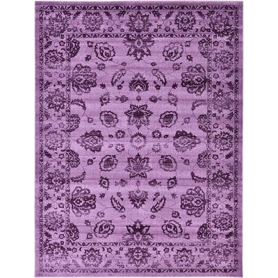Aniyah Purple Area Rug